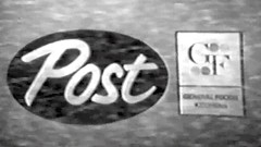 Commercial - The Danny Thomas Show is brought to you by Post Cereals! (VideoArcheology) Tags: videoarcheology commercial the danny thomas show is brought you by post cereals