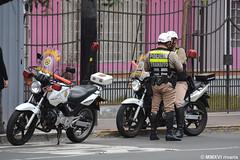 Policía Nacional del Perú (rivarix) Tags: policeman policeofficer lawenforcement cops policíanacionaldelperú motorcop hondapolicemotorcycle femalemotorcop trafficcops policiatransito transitpolice