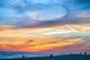 Sunset. Newport Beach, California. April (Jeff in Henderson) Tags: sunset newportbeach california beach ocean sky blue sand canon6d