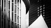 Philharmonic Luxembourg (Lasorigin) Tags: bâtiment pilier fenêtre architecture ombre géométrie texture ligne noirblanc nb building pillar shadow blackwhite bw pyramide pyramid geometry graphic graphique