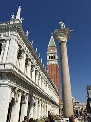 (tony_deieso) Tags: color tower windows arches pillar bluesky explore architecture travel italy venice