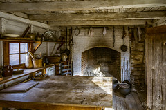 Cleaned and Ready (ProPeak Photography) Tags: architecture colonialwilliamsburg kitchen virginia winter