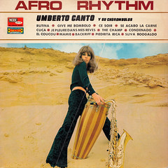 Umberto Canto y su Chorombolos - Afro Rhythm (oopswhoops) Tags: vinyl album french latin boogaloo afrocuban vogue