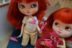 Blythe a Day 16 December 2016 - Curl