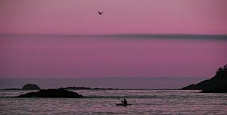sunset paddling II (explored)