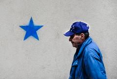 blue star (Zlatko Vickovic) Tags: street streetphotography color novisad srbija serbia vojvodina zlatko vickovic lightandshadow shadow urban city streetcolor people zlatkovickovicphotography