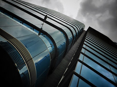 Heavy Weather (Douguerreotype) Tags: uk gb britain british england london city urban architecture building blue lines geometry geometric