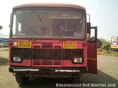 #MSRTC #Parivartan #Bus  #Swargate #Phaltan (Lalit Bhojane MSRTC) Tags: phaltan msrtc parivartan swargate bus