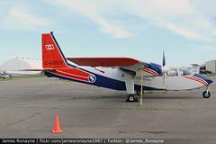 C-GSGR   BN.2B-21 Islander   Sander Geophysics (james.ronayne) Tags: aeroplane airplane plane aviation flight canon 70d raw stunning sharp gorgeous beautiful 100400mm aircraft cgsgr bn2b21 islander sander geophysics survey boom modified