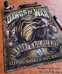 Marines_bulldog_USMC_tin_sign_art (leanbrothers) Tags: usmc marines bulldog tinsign metalsign art illustration army dog drawing semperfi military prints