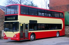 Pilkingtonbus, Accrington recently acquired V622 DJA at Argyle St Depot showing off its fresh coat of paint. (Gobbiner) Tags: pilkingtonbus trident 17622 stagecoach accrington manchester v622dja dennis magicbus