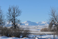 Where prairie meets the mountians (Todd Boland) Tags: scenery alberta winter rockies