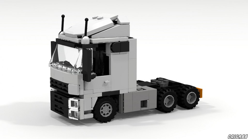 Lego Truck Building Instructions