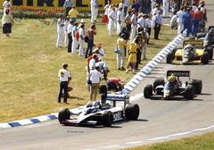 Derek Warwick - Brabham BT55 BMW (Noodles Photo) Tags: germangrandprix1986 derekwarwick brabhambt55bmw brabhambt55 bmw hockenheim hockenheimring formel1 formulaone motorsport motodrom autorennen analogpicture rennwagen rundstrecke racing motorracingdevelopments mrd