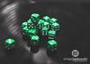 [10.365] Chance (Rich Jankowski) Tags: 10365 canon5dmkii ef2470mmf28lusm greendice photoaday2017 photoaday pileofdice 2017 365 5d2 canon chance dice green matte risk bokeh reflection