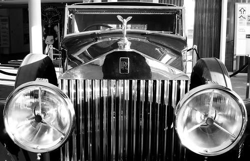 Phantom II, 1930, auf dem Säntis