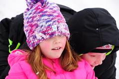 Pushing..... (Narodnie Mstiteli) Tags: sledding sled reno nevada children hill snow