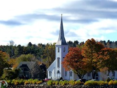Kanada – Novo Scotia – Mahone Bay - Trinity United Church
