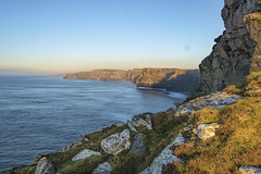 _Towards Moher (irishman67) Tags: countyclare liscannor cliffsofmoher ireland backlit cliffs landscape winter