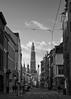 Antwerp on a cold winterday (grepe) Tags: antwerpen bw cityscape gebouw kerk ~type ~waar ~wat cathedral