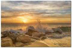 Sunrise at Boynton Beach (jeannie'spix) Tags: sunrise boyntonbeach florida beach
