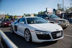 Audi R8 (jerrygu) Tags: toronto cars audi v10 supercars r8 worldcars