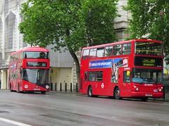 Arriva London VLA154 (LJ55BRX) & London General LT41 (LTZ1041) (peter_b2008) Tags: buses volvo transport alexander londongeneral nb4l alx400 b7tl arrivalondon buspictures goaheadlondon goaheadgroup arrivagroup lt41 newbusforlondon borismaster lj55brx vla154 ltz1041