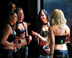 Monster Energy Drink Promo Girls (ericok) Tags: canada montreal grand canadian grandprix prix gp 2015 f1gp canadiangrandprix