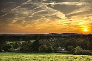Hurst Green Sunset