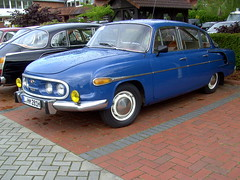Tatra 603 Mk III (Davydutchy) Tags: classic car germany deutschland rally meeting oldtimer register annual allemagne friesland tatra trd varel klassiker vetern jahrestreffen