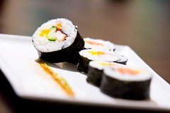 Homemade Sushi (cbromell) Tags: food canon sushi yummy salmon delicious eat