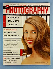 July 1957 Popular Photography... (www.yashicasailorboy.com) Tags: woman classic vintage magazine photography july actress 1957 popular
