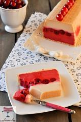 Winiowy kaszak (ciasto z kasz mann) (cookierenka.com) Tags: cherry desserts semolina ciasta kasza bezpieczenia