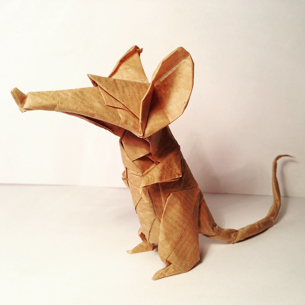 The worlds newest photos of origami and rat flickr hive mind origami rat shaunlergracie shaunlergracieorigami tags art rat origami rodents paperfolding papercraft ericjoisel jeuxipadfo Images
