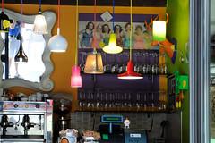 Pin Up (ironmember) Tags: bar wow nikon colore display donne luci tamron riflessi caff pinup interno specchio cassa bicchieri tazzine zucchero locale dettaglio definizione ragazze specchi d90 allaperto ritrovo lampade lampadari allinterno bustine 16300 manolibera madei ugelli