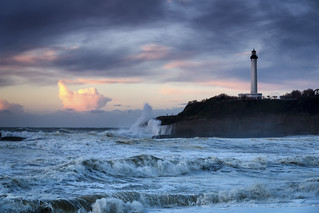 Lighthouse in a storm #explore