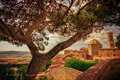View from Volterra, Toscana (Italy) (Pascal Dentan) Tags: haveaniceday 2016 italie toscane typically toscana italy italia ti amo volterra cinque terre tree tower tour old village arbre land landscape paysage view