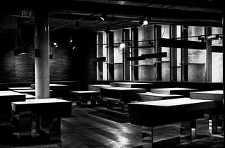 - the empty showroom -