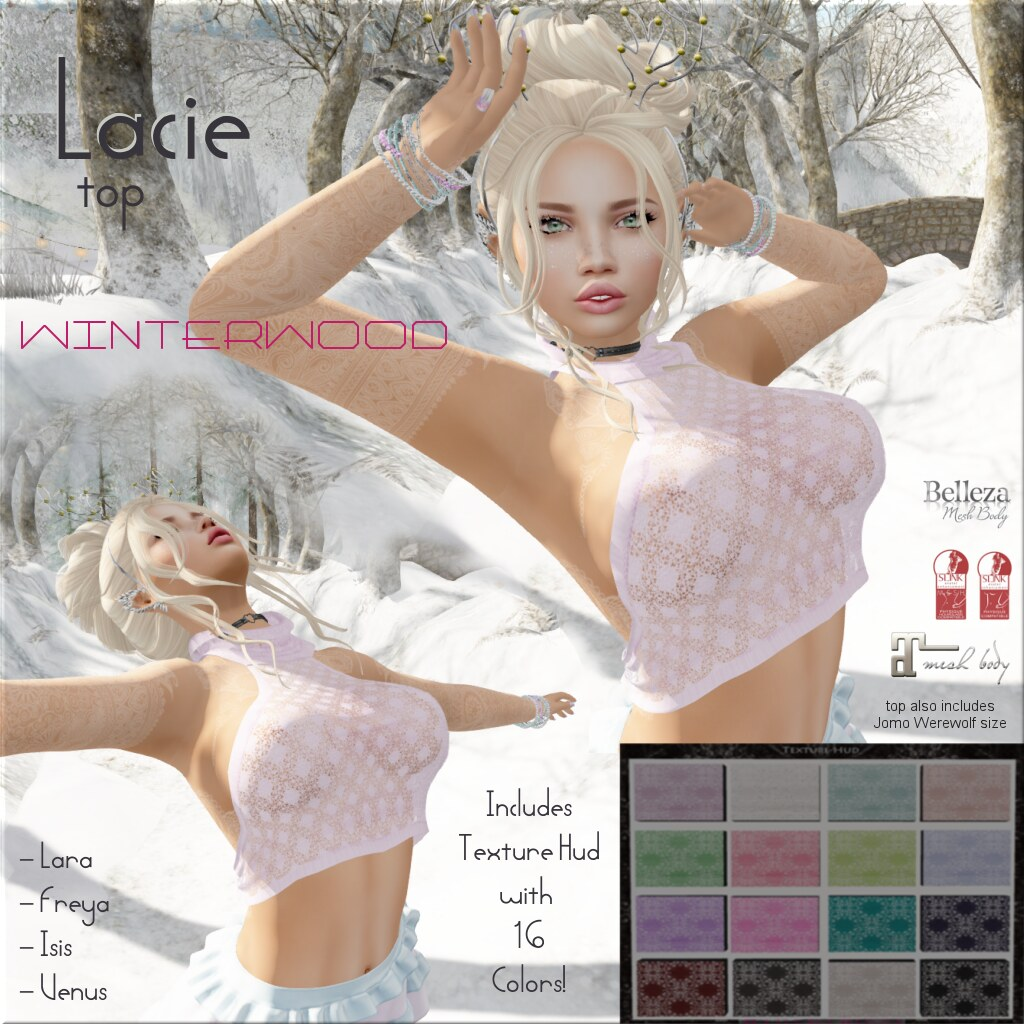 Lacie halter top ad (WinterGravois) Tags  fashion secondlife halter lace  winterwood maitreya belleza 3c51096dcf