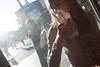 [ a moring in astoria ] ([ changó ]) Tags: wwwriccardoromanocom girl woman breakfast donna ragazza colazione nyc newyork cofee caffè street people person persona gente persone shot streetshot