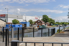 Litherland Swing Bridge and Visitor Moorings (hilofoz) Tags: litherland merseyside england uk
