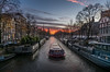 canal ride (Mario Visser) Tags: amsterdam canal ride cruises sunset sky water boat city evening citeseeing