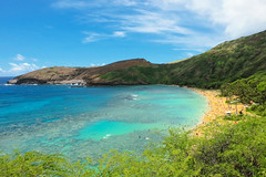 Hanauma Bay (when I'm on vacation) Tags: hanauma bay hawaii honolulu nature oahu us ocean sea beach outdoor