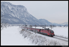 ÖBB 1116 235 - RJ 1287 (Spoorpunt.nl) Tags: 7 januari 2017 taurus 1116 235 öbb railjet 1287 arlberg langkampfen sneeuw winter