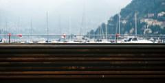 Il nuovo lungolago... (sirio174 (anche su Lomography)) Tags: lingolago cantiere paratie scempio devastazione como lago lake lungolago