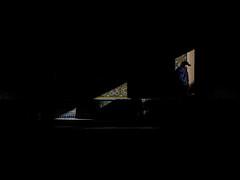 dark corner (Georgie Pauwels) Tags: street streetphotography darkness shadows pattern olympus morocco candid moment