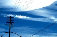 Tension in The Sky (hectic skeptic) Tags: camarillo california losangeles construction powerlines markamorgan winter stormclouds