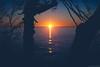 Sunrise across Lake Superior (michaelraleigh) Tags: autumn 50mm northshore landscape lakesuperior lake fall morning f18 beautiful secluded statepark outdoors shovelpoint canoneos5dmarkii serene canon minnesota