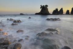 Rocks And Water (memories of time) Tags: japan shizuoka izu wave sea rock ose minamiizu 大瀬 伊豆 南伊豆