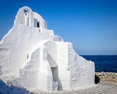 Church of Panagia Paraportiani (Kevin R Thornton) Tags: d90 nikon travel mediterranean greece architecture mykonos panagiaparaportiani church mikonos egeo gr
